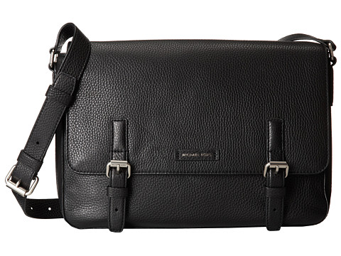 Michael Kors - Bryant Large Messenger (Black) Messenger Bags