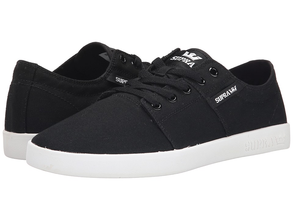 Supra - Stacks II D (Black/White) Men's Skate Shoes