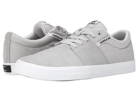 Supra - Stacks Vulc II (Light Grey/White) Men