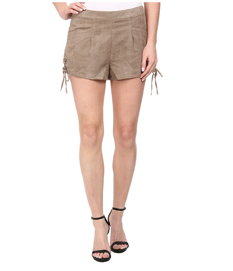 Sam Edelman - Suede Lace Fly Short (Khaki) Women