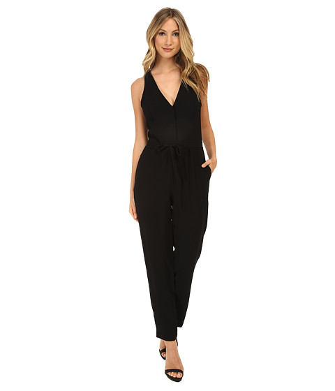 Sam Edelman - Cross Back Jumpsuit (Black) Women's Jumpsuit & Rompers One Piece