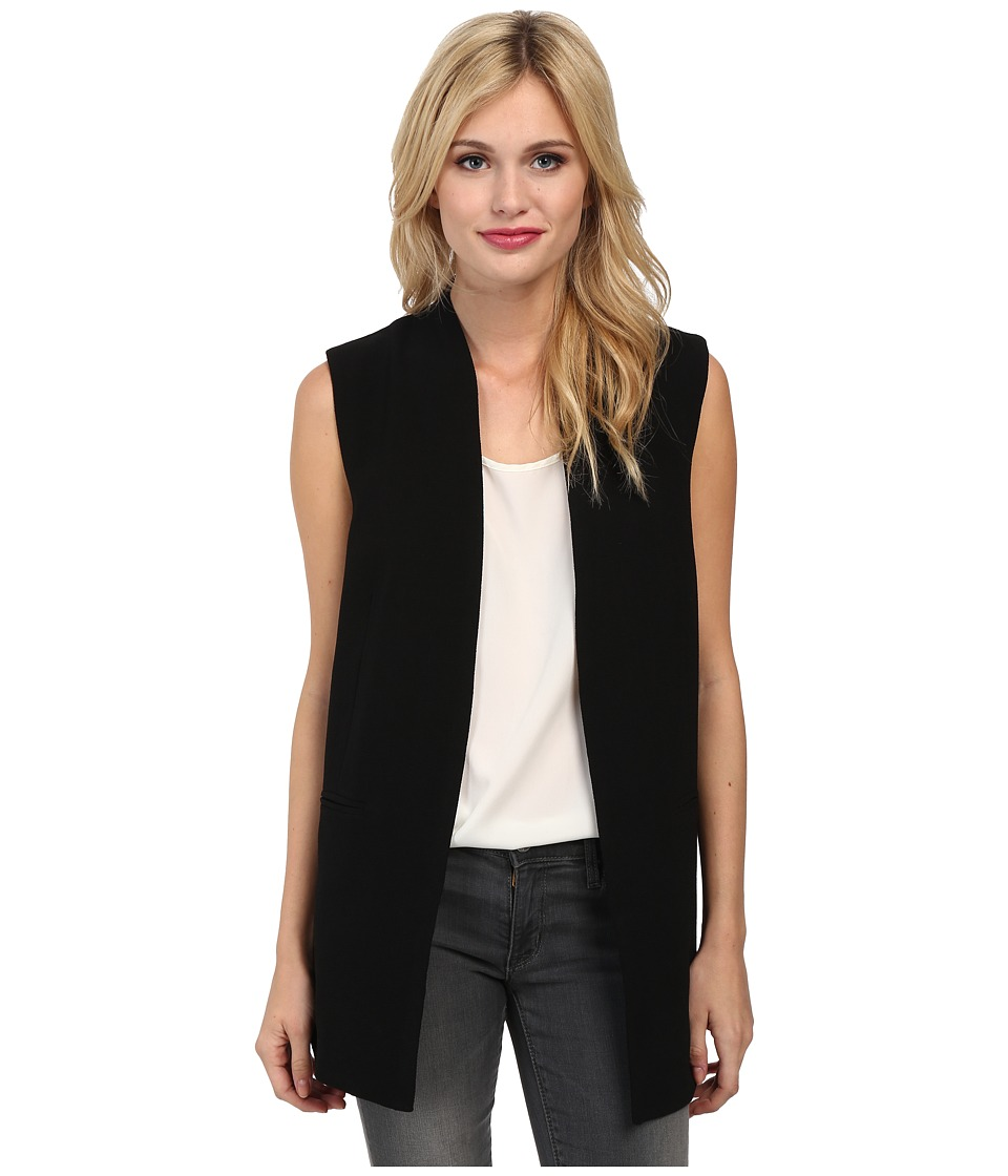 Sam Edelman - Cross Back Vest (Black) Women