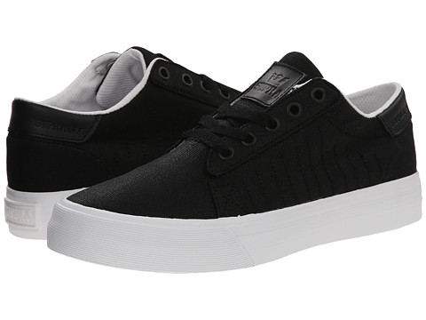 Supra - Belmont (Black/White) Women