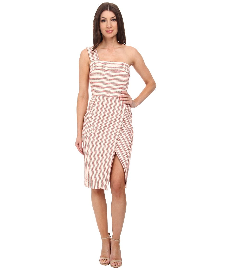 Rachel Zoe - Leona Dress (Ivorie/Brick) Women's Dress
