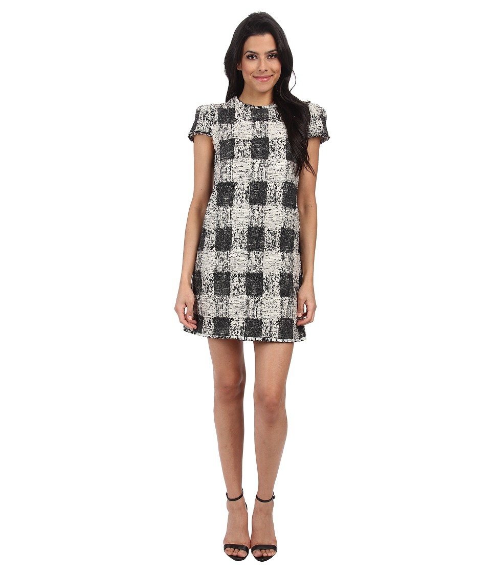 Rachel Zoe - Stewart Dress (Ivorie/Black) Women's Dress