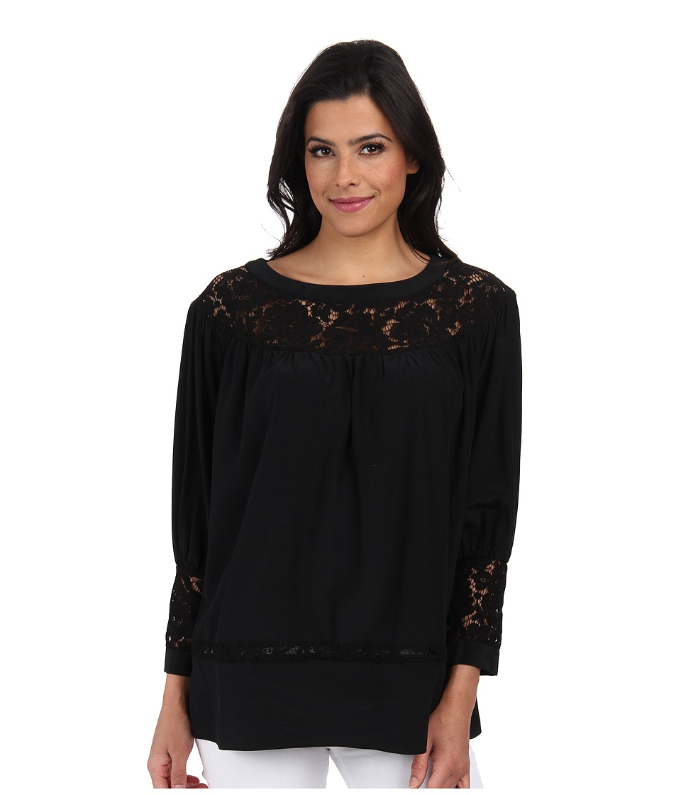 Rachel Zoe - Natura Top (Black) Women