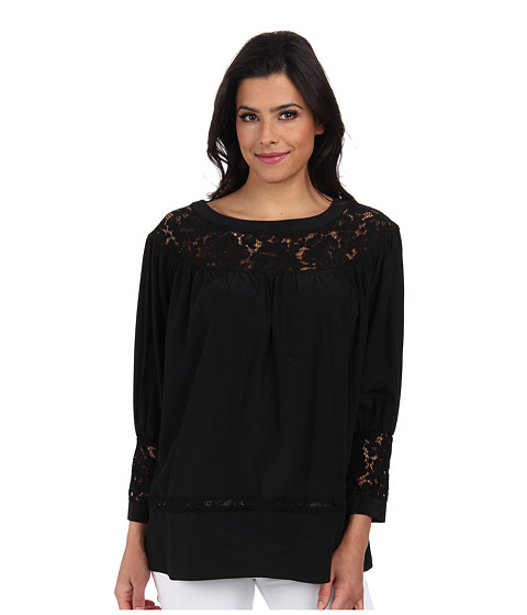 Rachel Zoe - Natura Top (Black) Women's Clothing