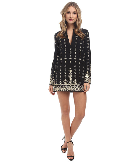 Rachel Zoe - Kayt Tunic Dress (Black) Women's Dress