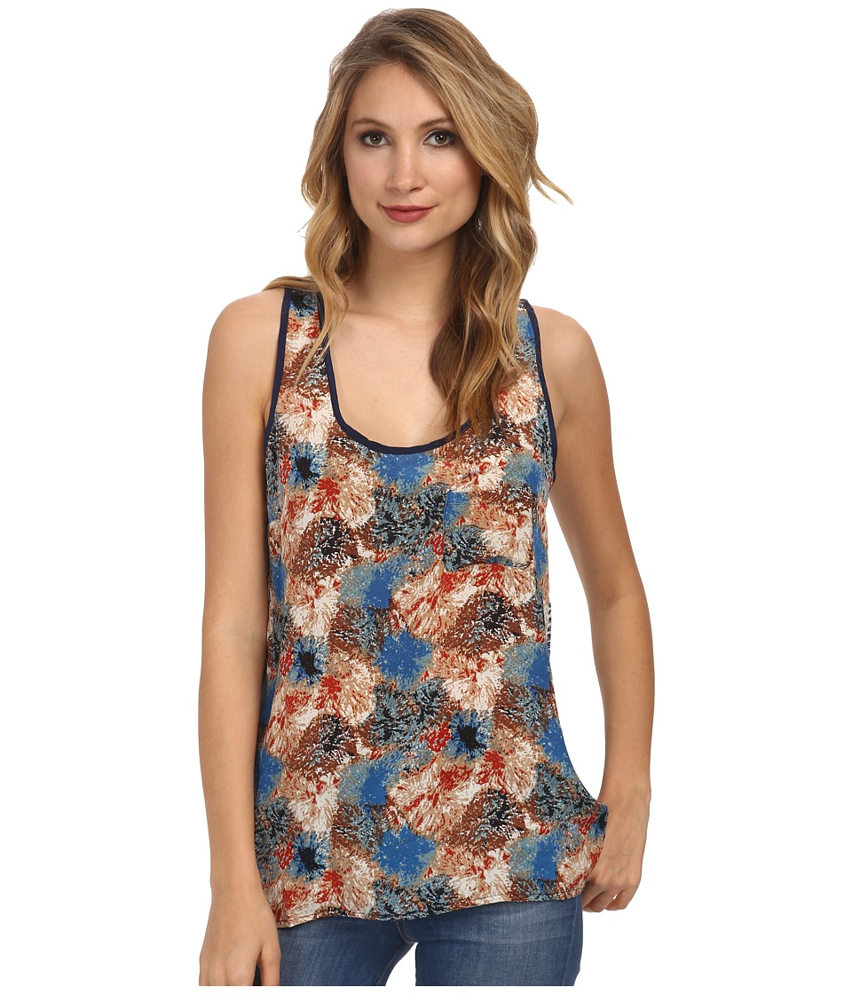 Tolani - Fiona Tank Top (Navy) Women's Sleeveless