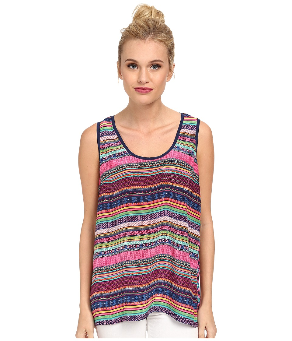 Tolani - Fiona Tank Top (Pink) Women's Sleeveless
