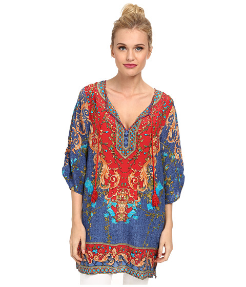 Tolani - Chloe Tunic (Red) Women's Dress