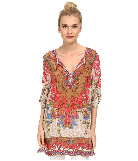 Tolani - Chloe Tunic (Ivory) Women's Dress