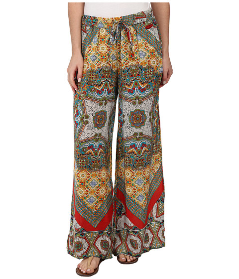 Tolani - Olivia Pants (Patchwork) Women's Casual Pants
