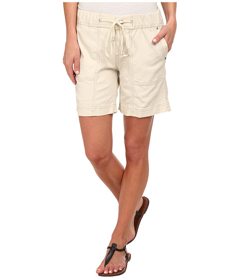 Jag Jeans - Trek Relaxed FIt Short in Gatsby Linen (Natural Linen) Women's Shorts