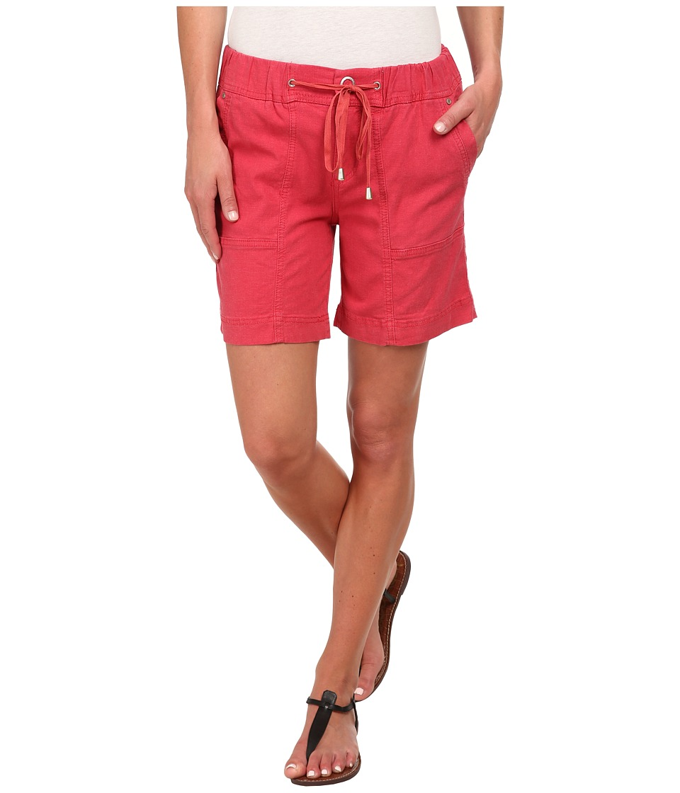 Jag Jeans - Trek Relaxed FIt Short in Gatsby Linen (Shell) Women's Shorts
