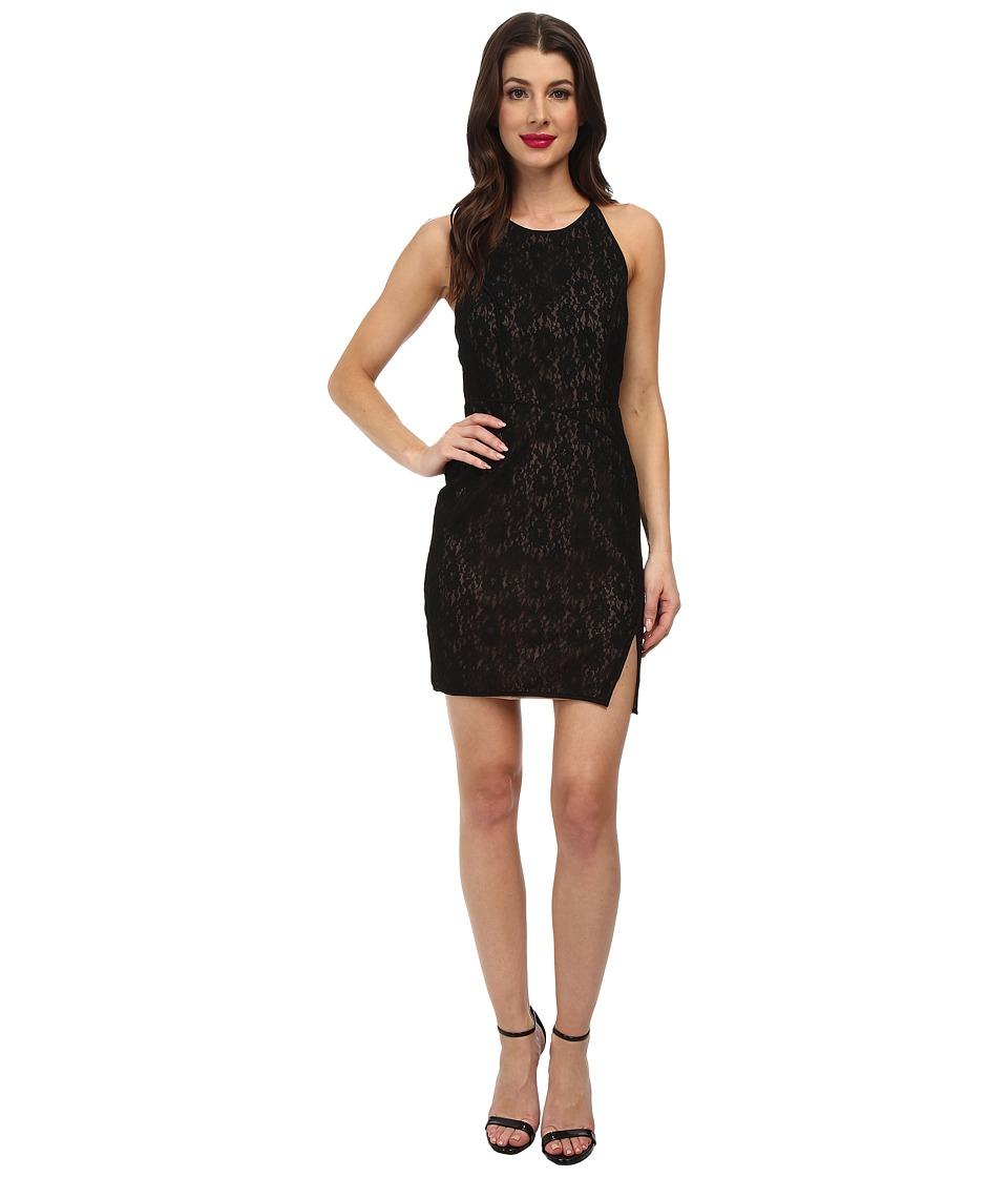 BCBGMAXAZRIA - Tenya Knit Evening Dress (Black) Women's Dress