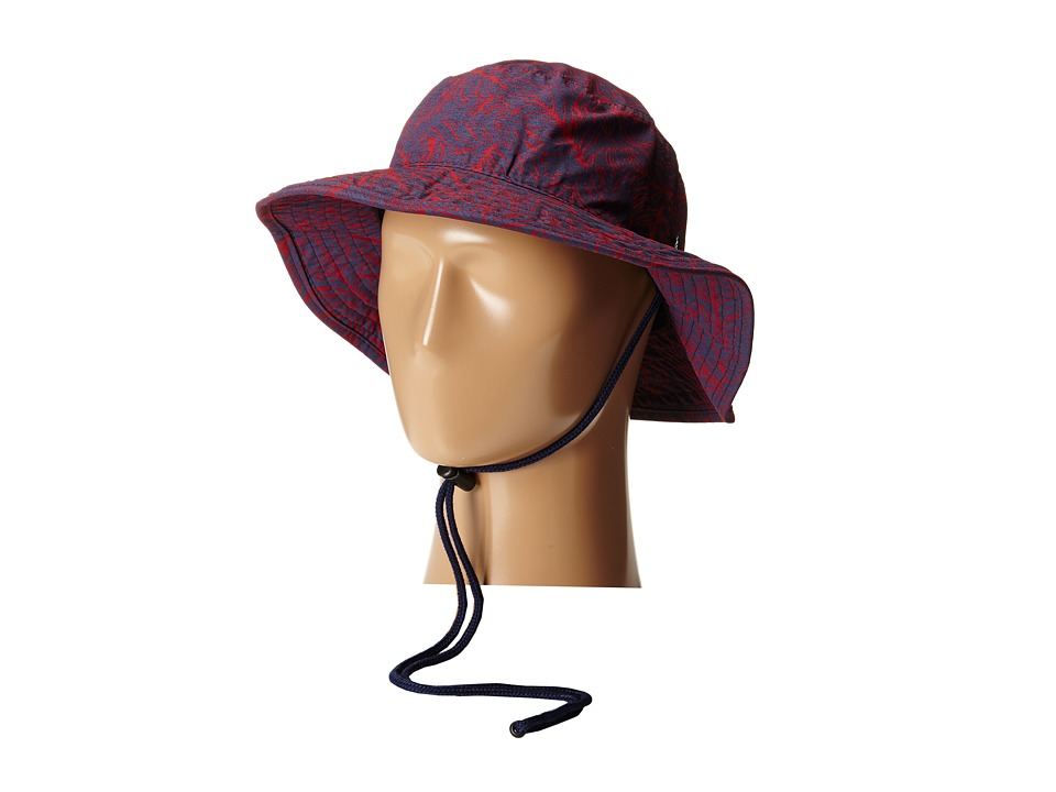 Vans - Boonie Bucket (Beet Red Open Leaf) Bucket Caps