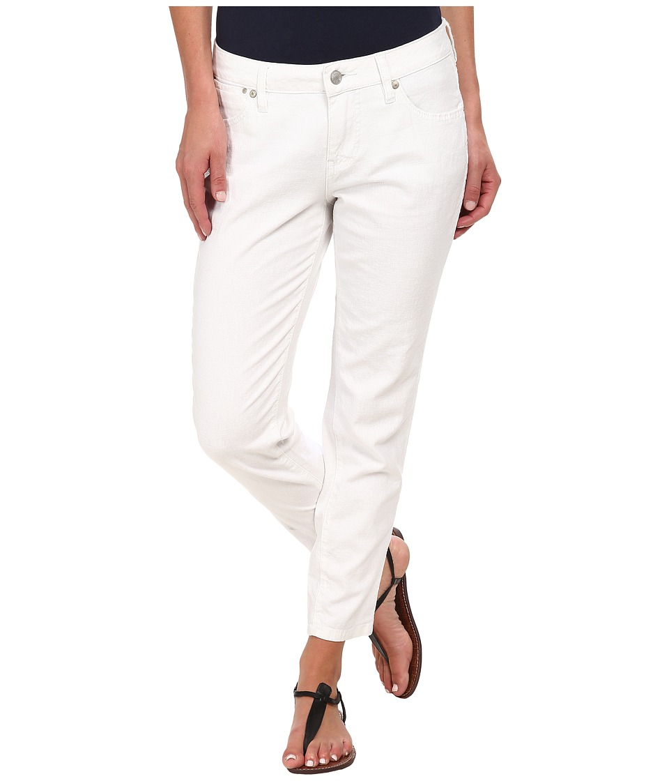 Jag Jeans - Evan Slim Ankle in Gatsby Linen (White) Women
