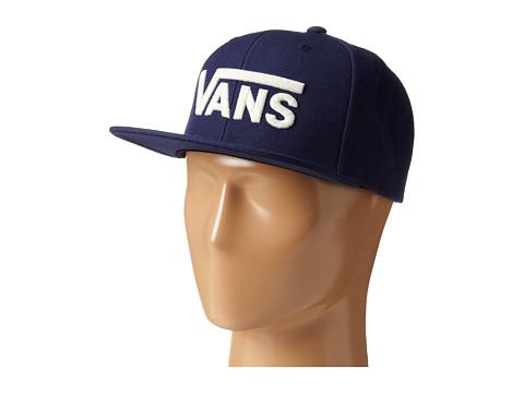 Vans - Drop V Snapback Hat (Dress Blue) Caps