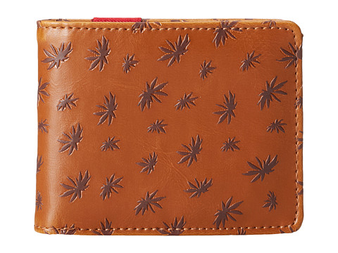 Vans - Peace Leaf Wallet (Vintage Natural) Wallet Handbags