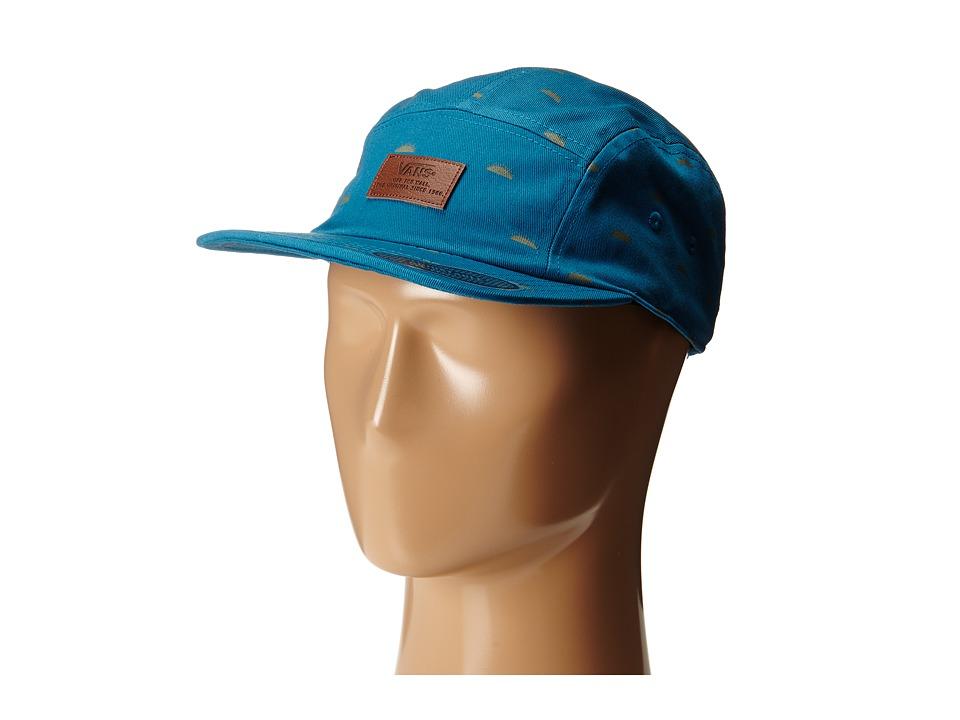 Vans - Davis 5 Panel Camper Hat (Celestial Del Sol) Baseball Caps