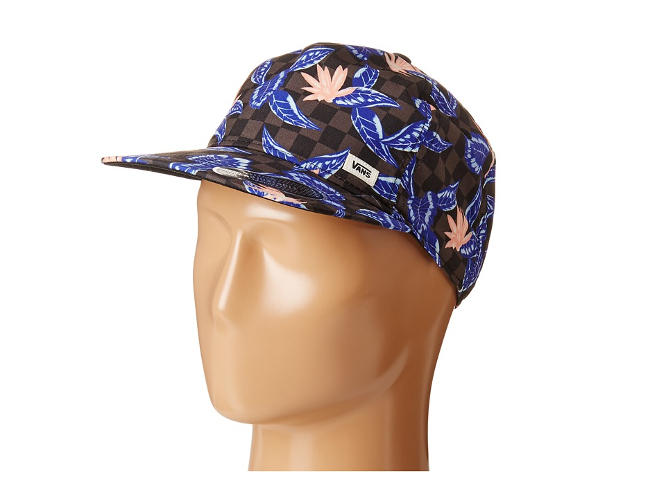 Vans - Overall Snapback Hat (Checker Floral) Caps