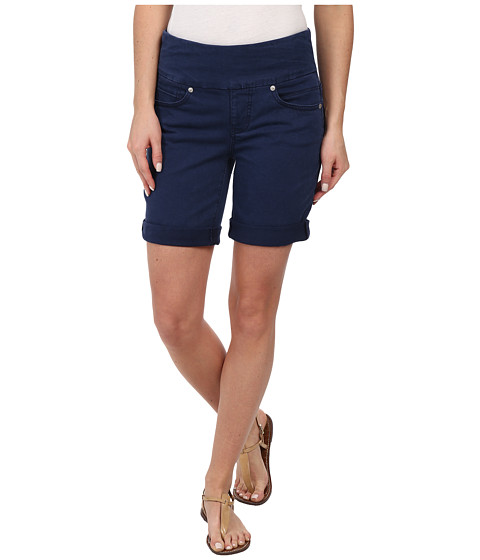 Jag Jeans - Jordan Pull-On Relaxed Fit Short in Heritage Twill (Navy Blue) Women