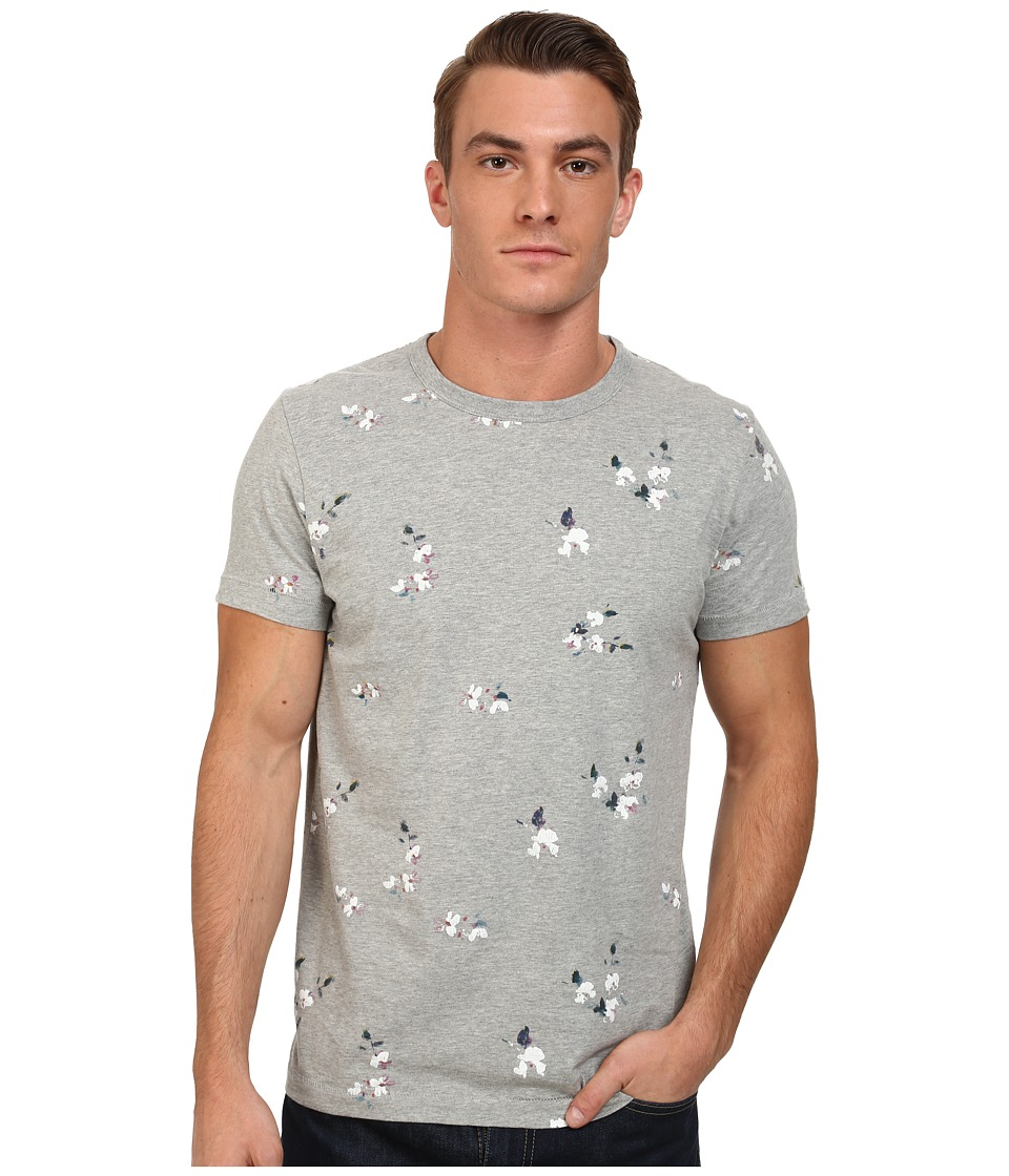 French Connection - Blossom Jersey (Grey Mel) Men's T Shirt