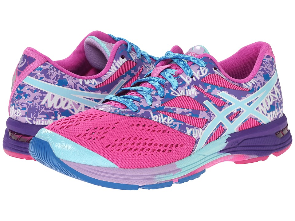 ASICS - GEL-Noosa Tri 10 (Pink Glow/Aqua Splash/Fuchsia) Women's Running Shoes