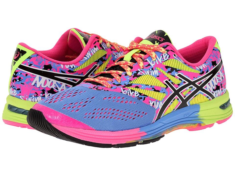 ASICS - GEL-Noosa Tri 10 (Powder Blue/Black/Hot Pink) Women's Running Shoes