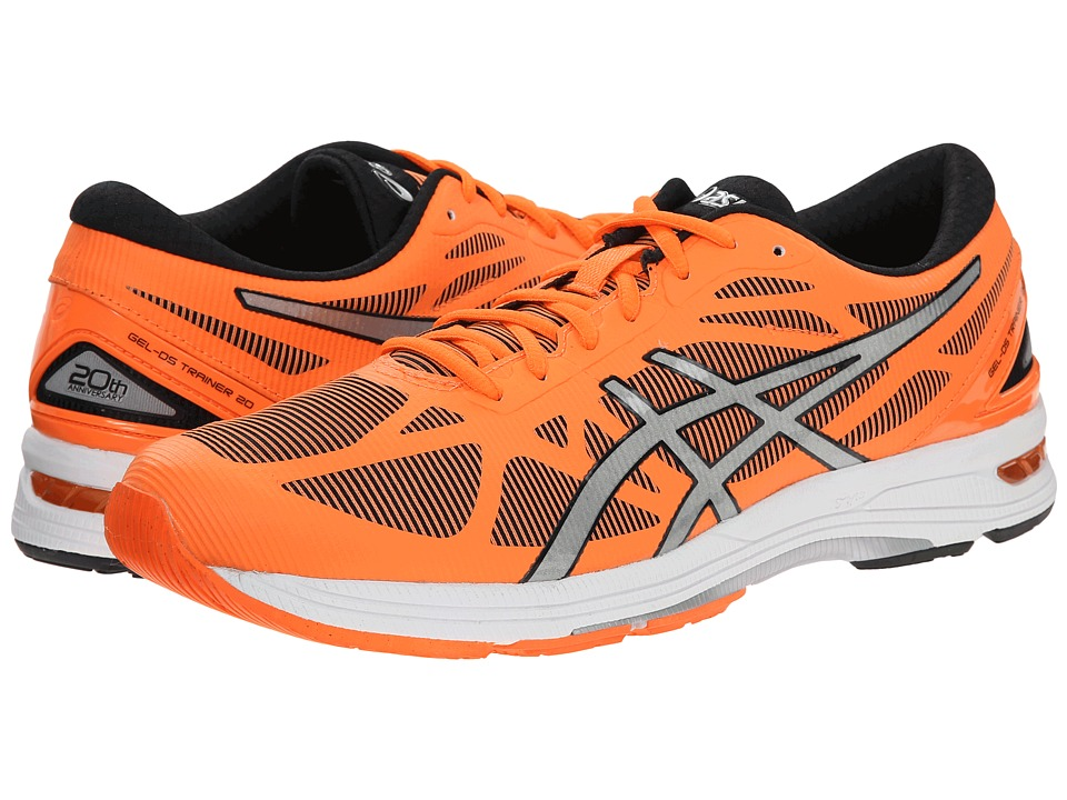 ASICS - GEL-DS Trainer(r) 20 (Flash Orange/Silver/Black) Men's Running Shoes