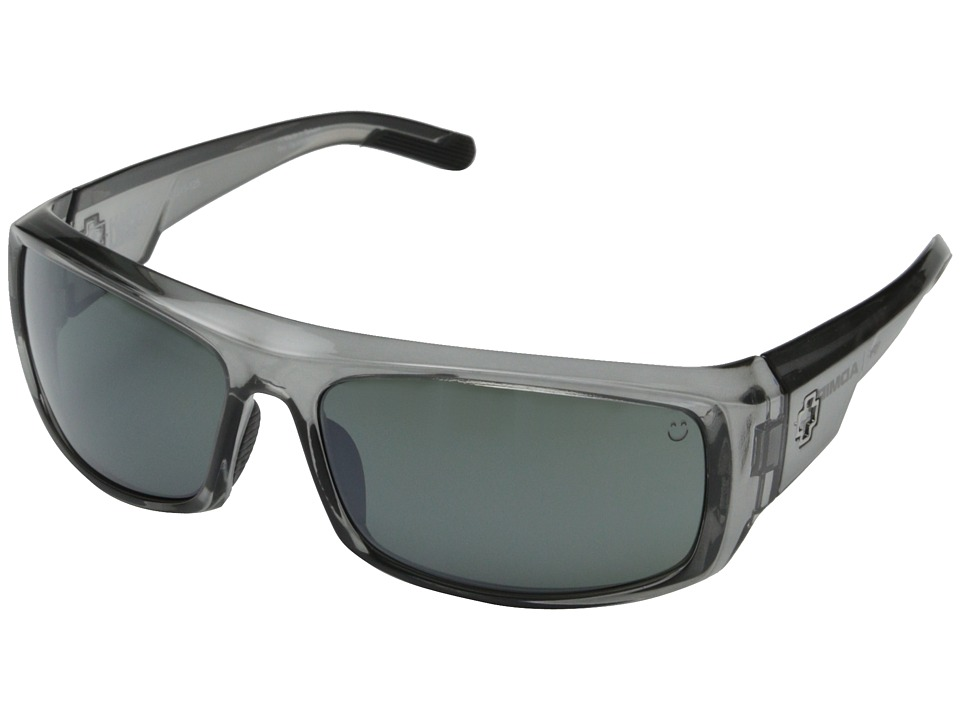 Spy Optic - Admiral (Clear Smoke/Happy Gray Green w/ Silver Mirror) Fashion Sunglasses