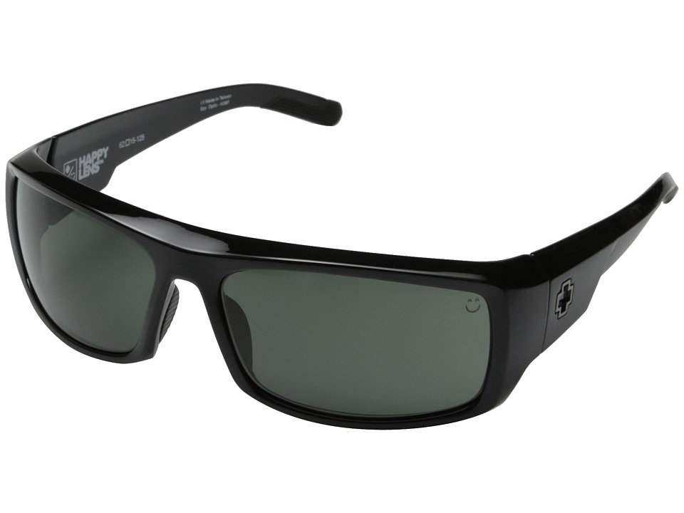 Spy Optic - Admiral (Black/Happy Gray Green) Fashion Sunglasses
