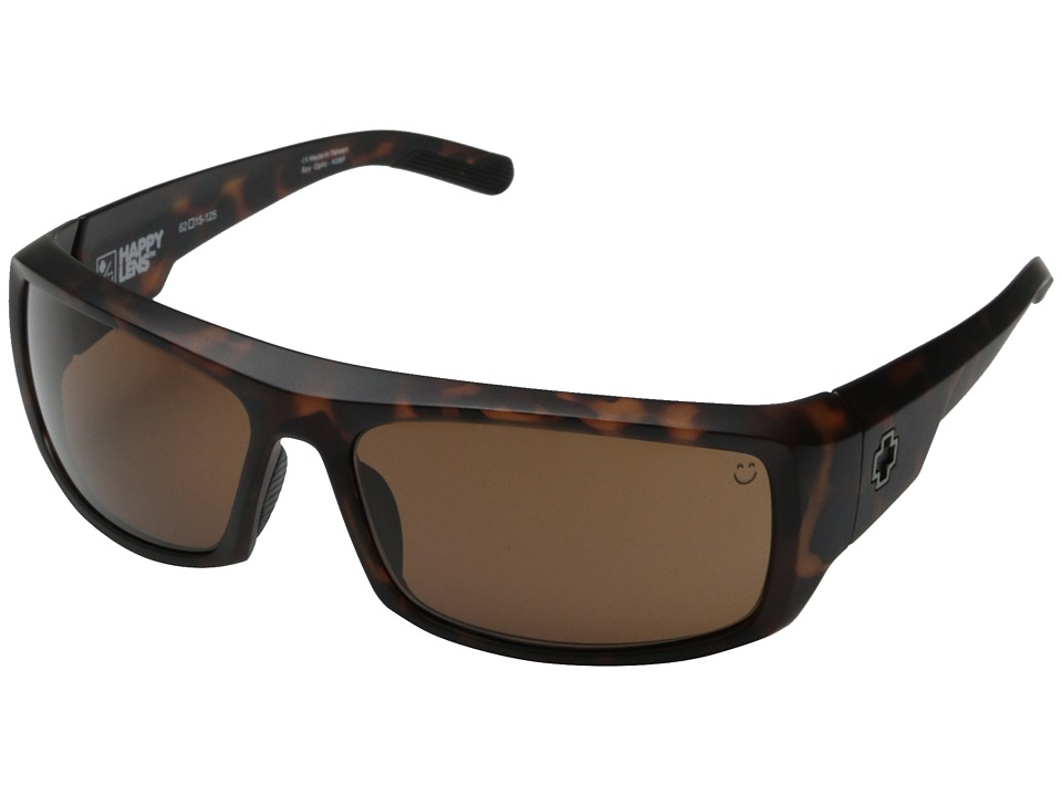 Spy Optic - Admiral (Matte Camo Tort/Happy Bronze) Fashion Sunglasses