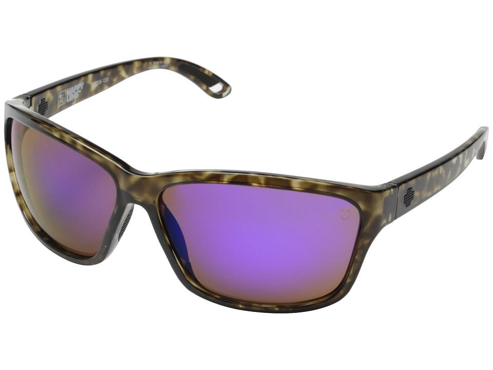 Spy Optic - Allure (Smoke Tort/Happy Bronze w/ Purple Spectra) Fashion Sunglasses