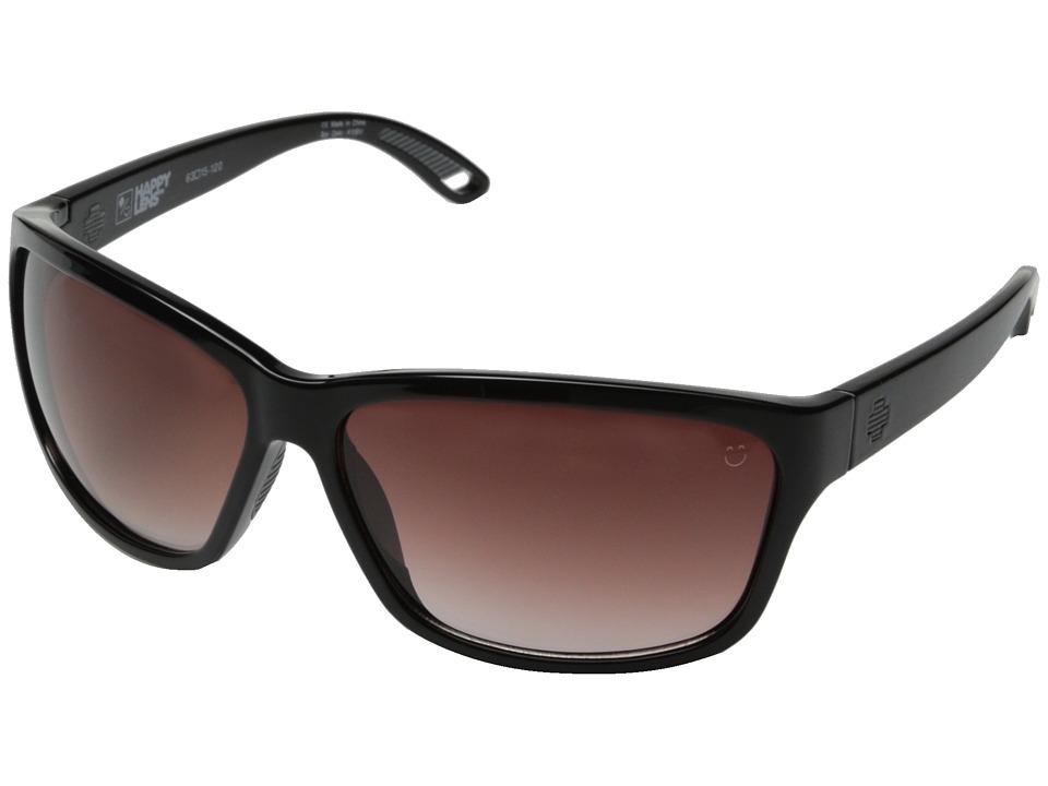 Spy Optic Allure (Black/Happy Merlot Fade) Fashion Sunglasses