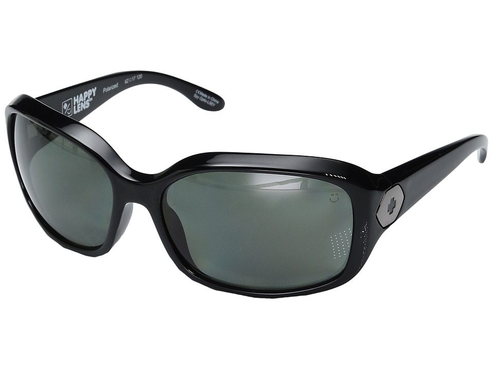 Spy Optic - Bonnie (Gloss Black/Happy Gray Green Polar) Fashion Sunglasses