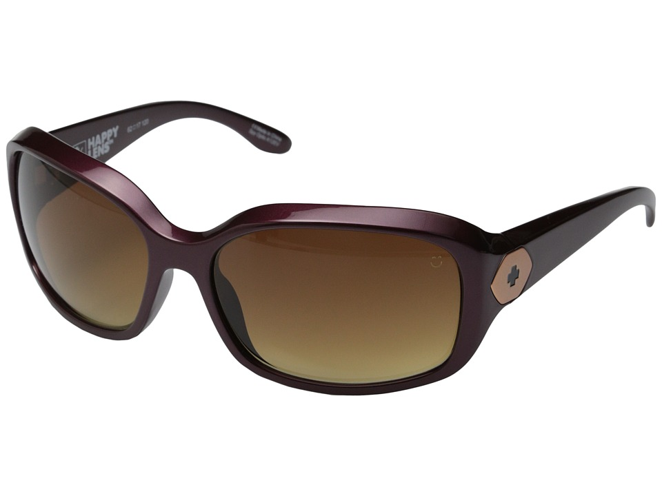 Spy Optic - Bonnie (Red Sand/Happy Bronze Fade) Fashion Sunglasses