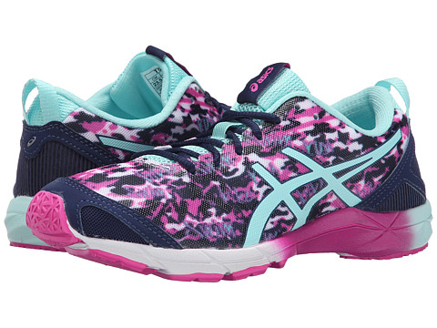 ASICS - GEL-Hyper Tri (Pink Glow/Aqua Splash/Navy) Women's Running Shoes