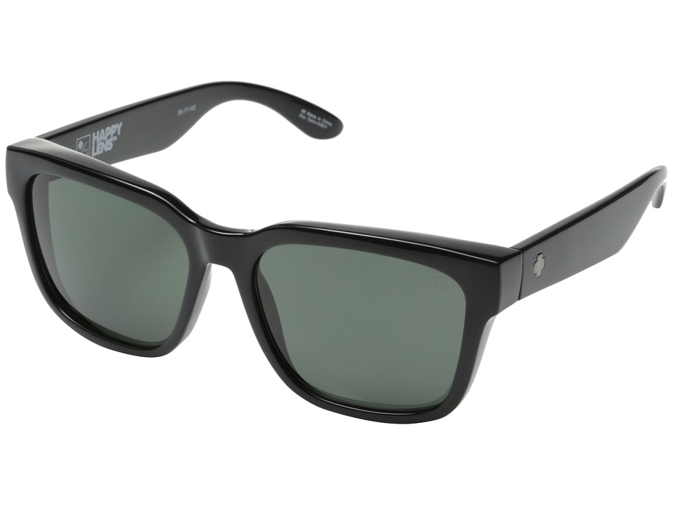 Spy Optic - Bowie (Black/Happy Gray Green) Fashion Sunglasses