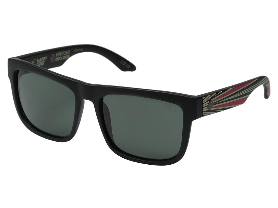 Spy Optic - Discord (Matte Black Non Toxic Revolution/Happy Gray Green) Sport Sunglasses