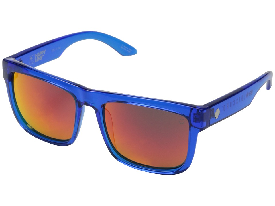 Spy Optic - Discord (Trans Navy/Happy Gray Green w/ Orange Spectra) Sport Sunglasses