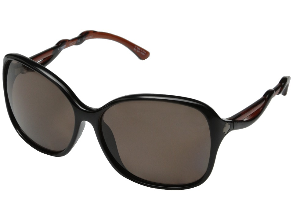 Spy Optic - Fiona (Black/Caramel/Happy Bronze Polar) Sport Sunglasses