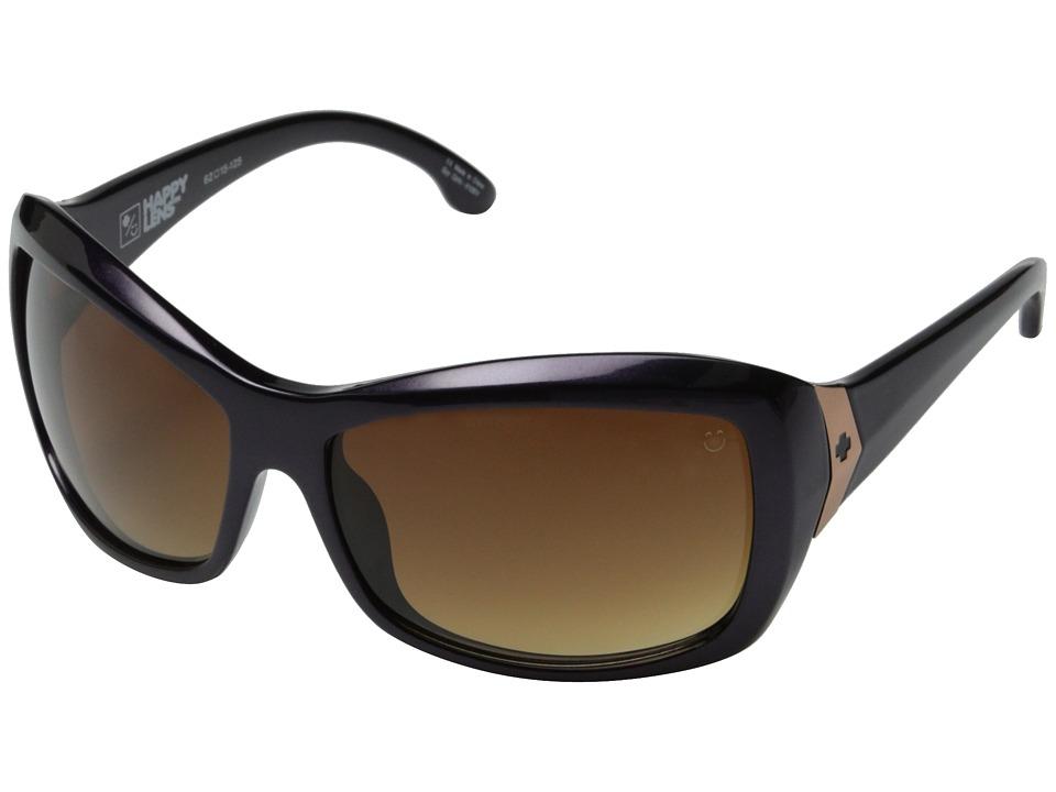 Spy Optic - Farrah (Deep Purple /Happy Bronze Fade) Sport Sunglasses