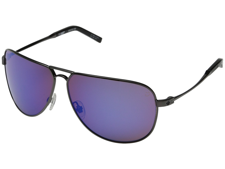 Spy Optic - Wilshire (Gunmetal/Happy Bronze w/ Blue Spectra) Fashion Sunglasses