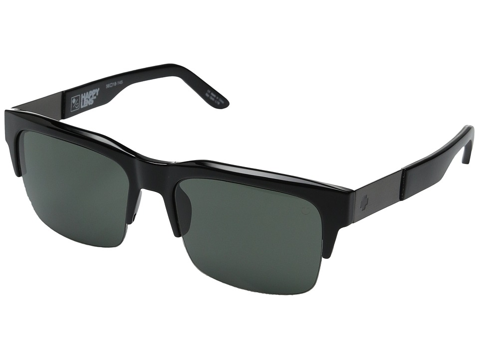 Spy Optic - Malcolm (Black/Happy Gray Green) Fashion Sunglasses
