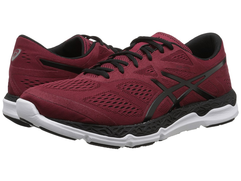 ASICS - 33-FAtm (Deep Ruby/Black/White) Men's Running Shoes