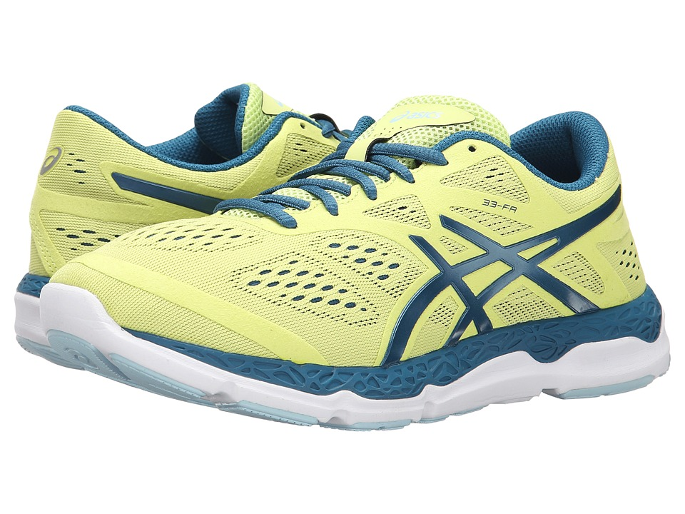 ASICS - 33-FA (Sunny Lime/Mosaic Blue/White) Women's Running Shoes