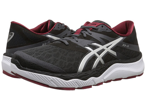 ASICS - 33-M (Dark Grey/Silver/Deep Ruby) Men