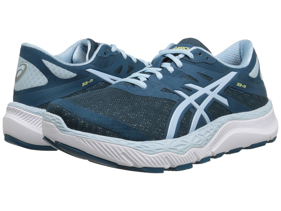 ASICS - 33-M (Mosaic Blue/Milk Blue/White) Women's Running Shoes